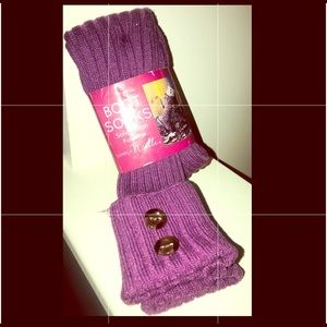 🆕Pair of Simply Noelle Boot Socks Size fits most